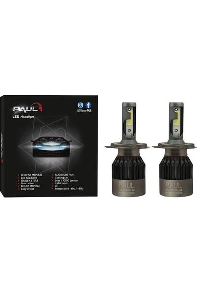 LED Xenon Ampul (PAUL) 10.000 lm Güç Şimşek Etkili - 1 Yıl Garantili