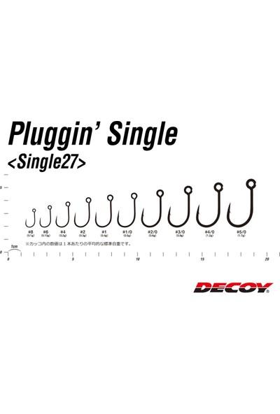 Decoy SINGLE27 Pluggin Maket Balık Iğnesi - Kaşık - Jig Iğnesi