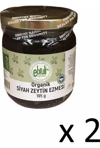 Ebruli Doğal Bakkal Organik Siyah Zeyin Ezmesi 195GR (2 Li)