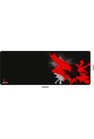 Rampage Combat Zone Xl Mouse Pad