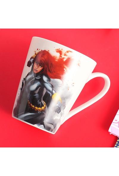Miniso Marvel Seramik Kupa Black Widow