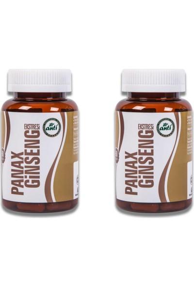 Anti Panax Ginseng Ekstresi%12 Ginsenosides 60 Kapsül