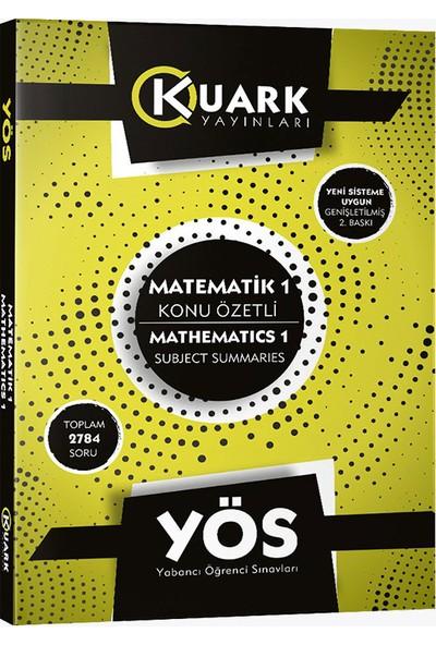 Kuark Yayınları Yös Matematik 1 Konu Özetli