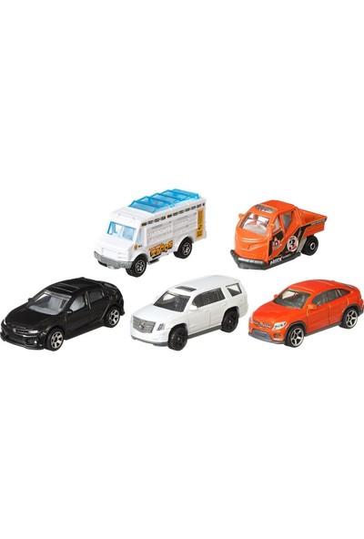 Matchbox Metal Beşli Araba Seti City Adventure Iı C1817-GKJ07