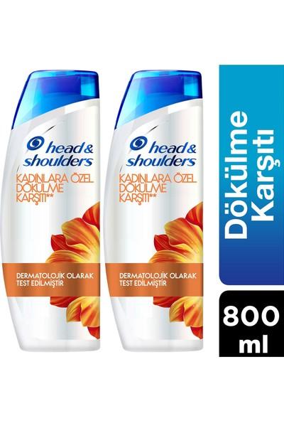 Head&Shoulders Kadınlara Özel Saç Dökülmesine Karşı Şampuan 400 ml x 2