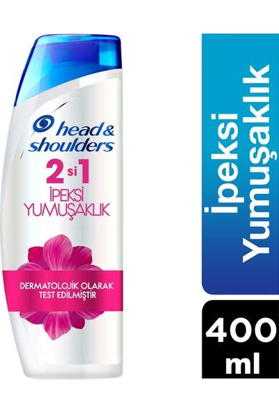 Head & Shoulders 2'si 1 Arada Kepek Karşıtı Şampuan İpeksi Yumuşaklık 400 ml