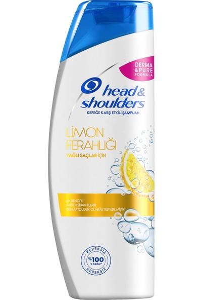 Head & Shoulders Kepek Karşıtı Şampuan Limon Ferahlığı 400 ml