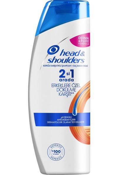 Head & Shoulders 2'si 1 Arada Kepek Karşıtı Şampuan Erkeklere Özel Saç Dökümelerine Karşı 400 ml