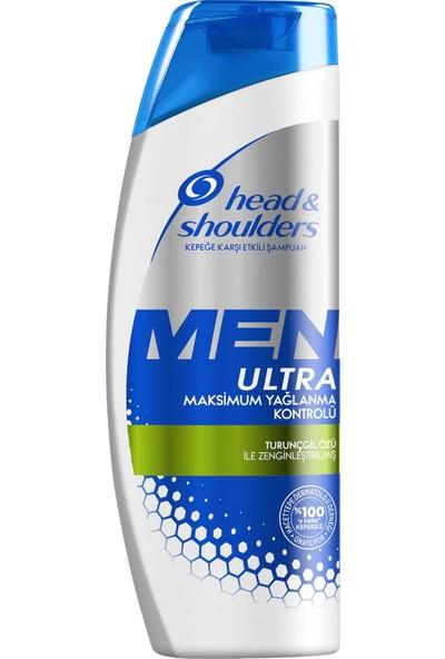 Head & Shoulders Men Ultra Erkeklere Özel Şampuan Maksimum Yağlanma Kontrolü 360 ml