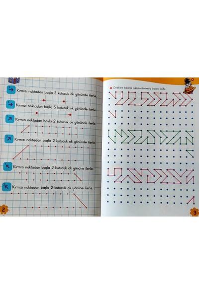 Çizgi Çalışmaları Kodlama ve Etkinlik Kitapları Seti Okul Öncesi - 15 Kitap