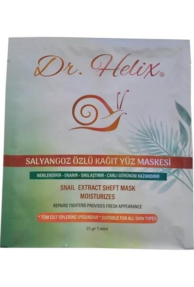 Dr. Helix Salyangoz Özlü Onarıcı Nemlendirici Kağıt Yüz Maskesi 5'li