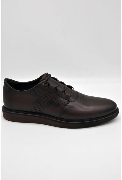 Rego Erdemler 1316 Erkek Günlük Ayakkabı Kahverengi 42
