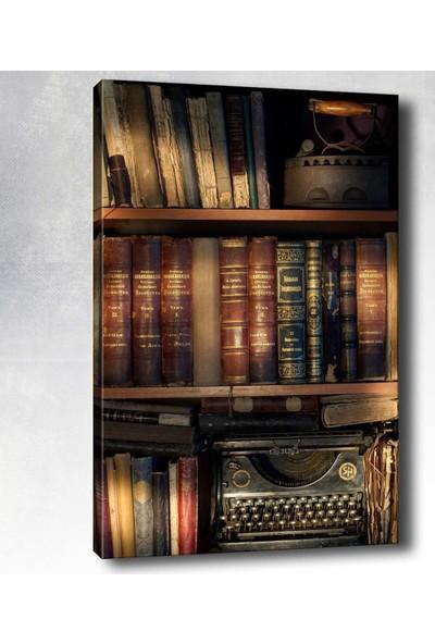 Syronix Kitaplık Kanvas Tablo