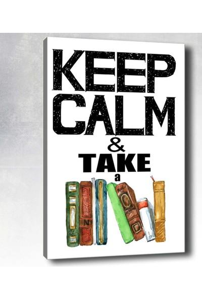 Syronix Keep Calm Take Kanvas Tablo