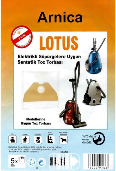 FERSAN Arnica Lotus Yatık Süpürge Torbası (10 Adet)