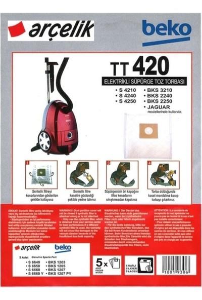 FERSAN Arçelik Beko TT420 Süpürge Torbası 10 Ad