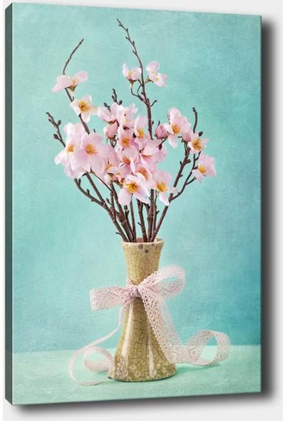 Syronix Vazodaki Çiçek Kanvas Tablo