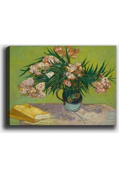 Syronix Vincent Van Gogh 1888-Zakkumlar- Çiçek Kanvas Tablo