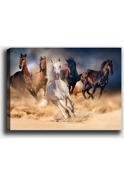 Syronix Koşan Atlar Kanvas Tablo