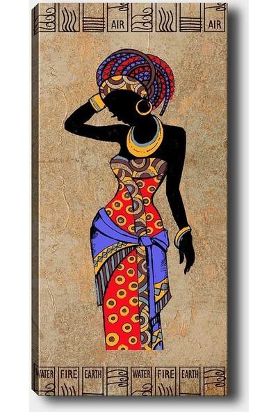 Syronix Afrikalı Kız Kanvas Tablo