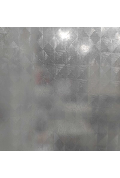 Aldimgittionline Buzlu Cam Desen Yapışkanlı Folyo