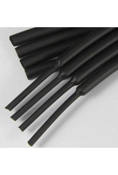 Woer Isı İle DaralanMakaron Kablo 6.4 mm Telefon Kabloları 10 Adet 50 cm