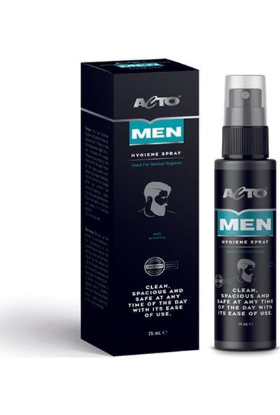 Acto Men Hygiene Spray 75 ml Erkek Dış Genital Bölge Temizleme Spreyi