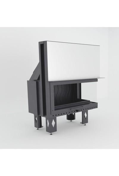 Çırağan Asansörlü Sağ Açık Çelik Hazne