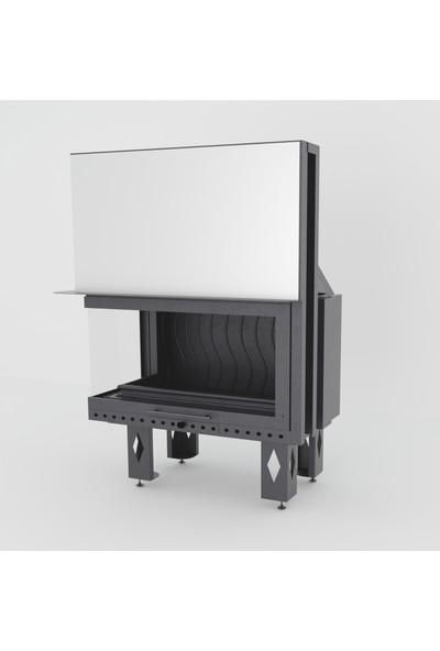 Çırağan Asansörlü Sol Açık Çelik Hazne
