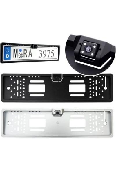Nar Market Gece Görüş Kameralı Plaka Altlığı Üniversal Plakalık Kamera