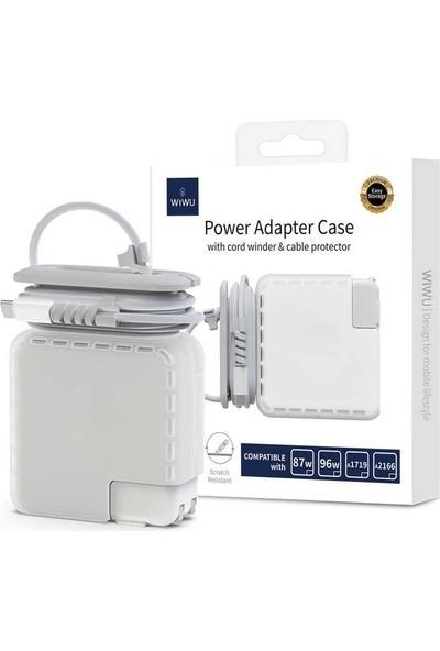 Wiwu Power 61W Adapter ve Şarj Koruma Kılıfı A1718/A1947 Uyumlu
