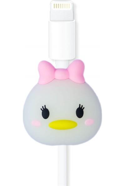 Markamindirim Kablo Koruyucu Beyaz Dişi Ördek