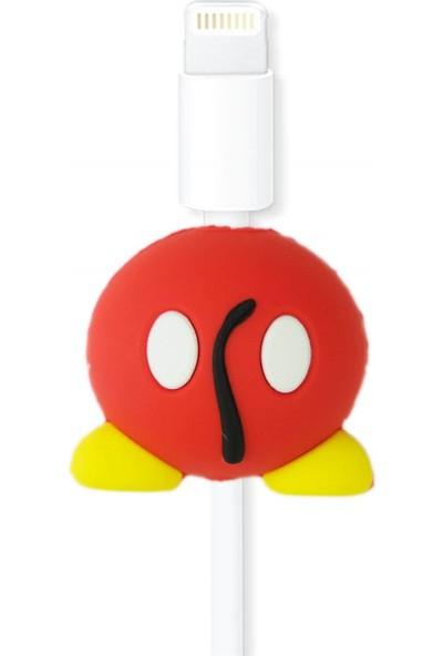 Markamindirim Kablo Koruyucu Kırmızı Tsum
