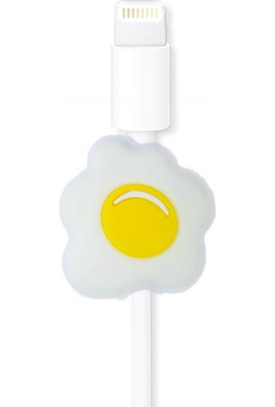 Markamindirim Kablo Koruyucu Beyaz Yumurta