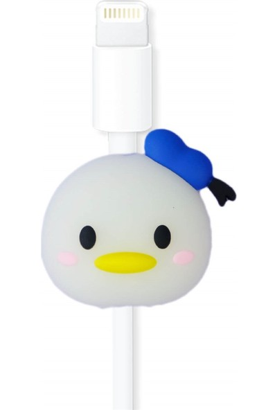 Markamindirim Kablo Koruyucu Beyaz Erkek Ördek