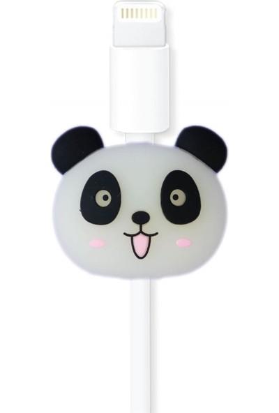 Markamindirim Kablo Koruyucu Beyaz Panda