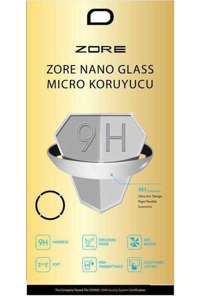 ZORE Casper Via V5 Zore Nano Micro Temperli Ekran Koruyucu