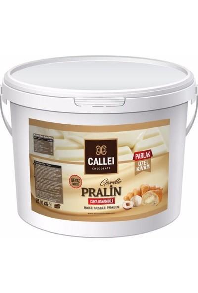 Callei Beyaz Pralin Çikolata 10 kg
