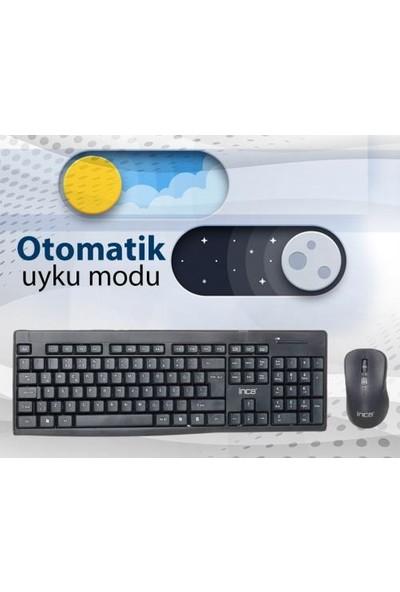Inca IWS-539T Kablosuz Süper Cosy Q Klavye + Mouse Seti IWS539T-24D48