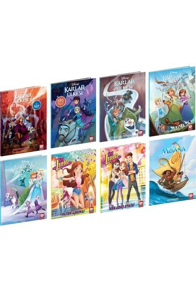Disney Çizgi Klasikleri Kız Çocuk Seti 8 Kitap