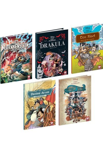 Disney Çizgi Klasikleri Seti-5 Kitap
