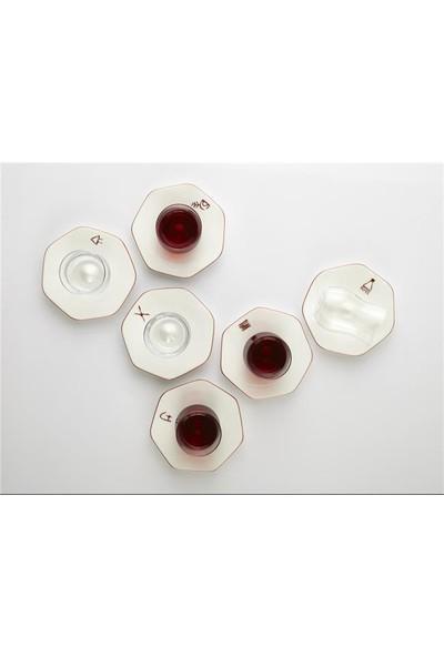 Koleksiyon Mislina Çay Bardağı 6'lı