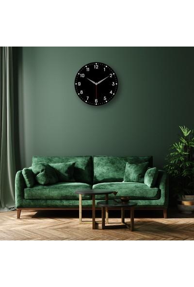 Faa Home Dijital Baskılı Dekoratif Mdf Duvar Saati