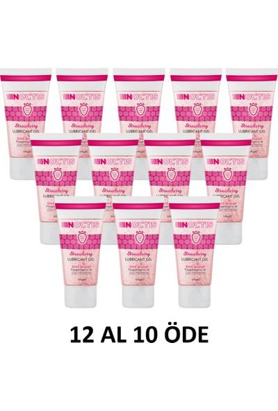 Noctis Kayganlaştırıcı Jel - Çilek Aromalı - 100 ml 12 Adet