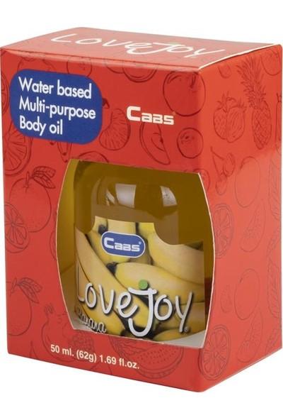 Caas Lovejoy Muz Aromalı Vücut Yağı