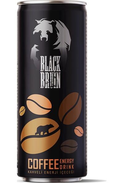 Black Bruin Kahveli Enerji Içeceği 250ML x 12'li