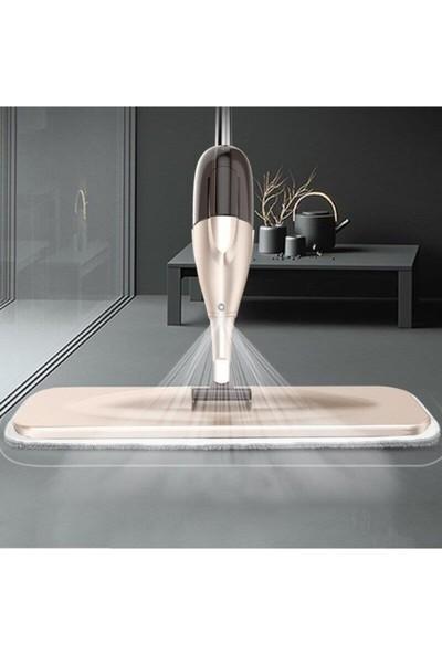 Pazariz Sprey Mop + 3 Yedek Microfiber Bezli Deterjan Hazneli Paspas Tablet Mop