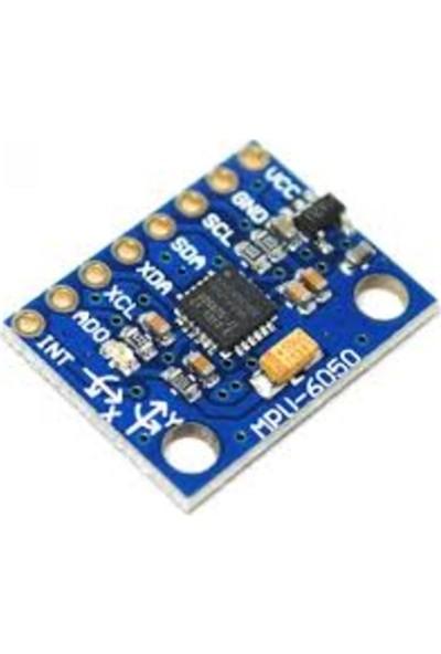 Emay Center MPU6050 6 Eksenli Gyro ve Eğim Sensörü GY521 Accelerometer GY-521