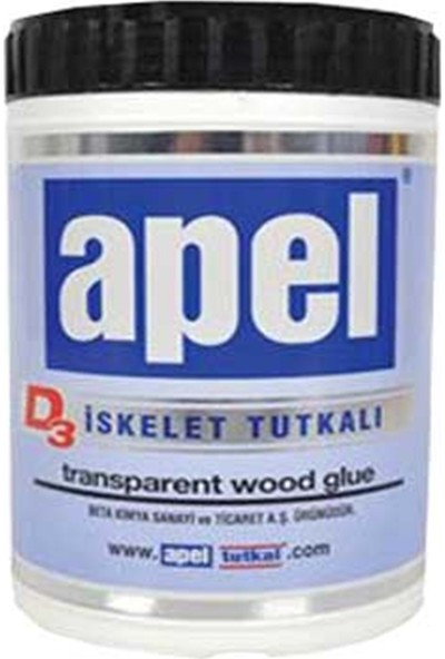 Apel D3 Iskelet Tutkal Şeffaf 4 kg