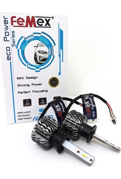 Femex Ford Focus 1 Makyajsız LED Xenon Sis Far Ampulu Femex Eco Power H1
